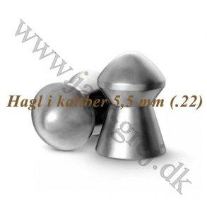 Hagl 5,5 mm (.22)