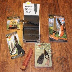 Knive, økser og Tools