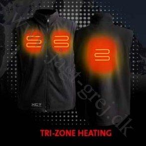 Beklædning med el-varme