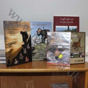 Bøger og DVD film