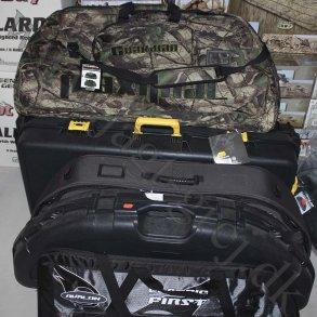 Bue kufferter og tasker