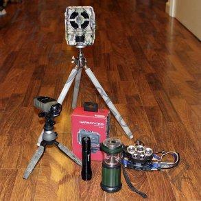 Kamera, lygter og andre elektriske ting