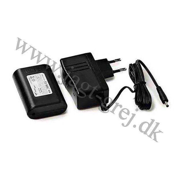 Ekstra 2600mAh batteri m/powerbank