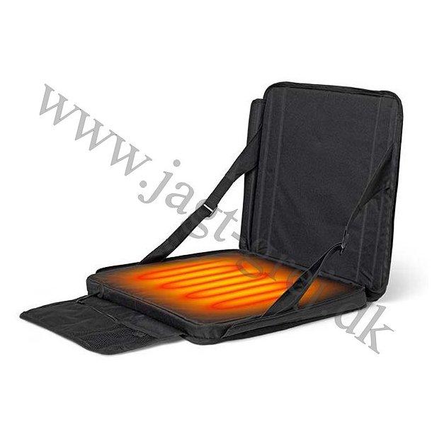 Outdoor sæde m. varme og rygstøtte