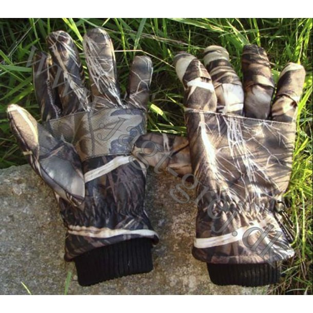 GoreTex handske i camouflage