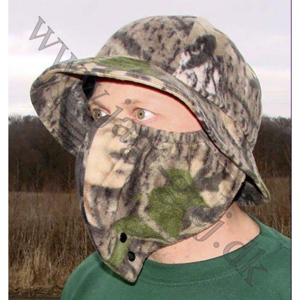 Bøllehat og ansigtsmaske i Fleece.