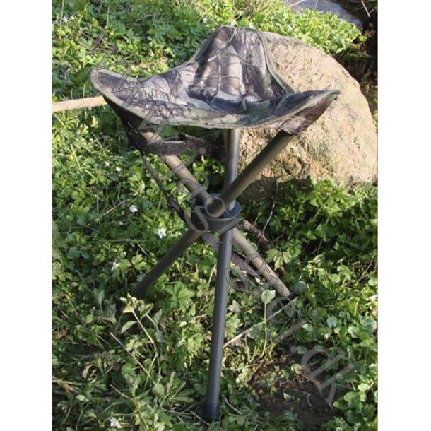 3-benet jagtstol i camouflage