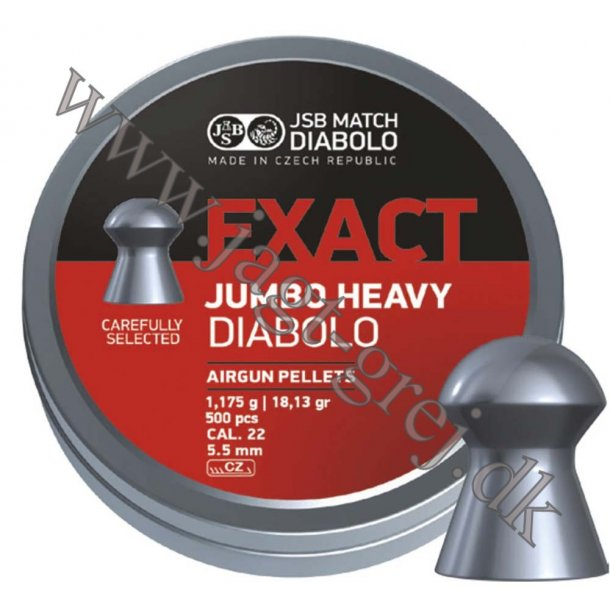 JSB Jumbo Exact Heavy 5,52 mm