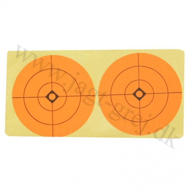75 mm center klistermærke 2 stk. a' 10 ark