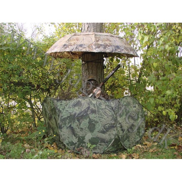 Paraply/skjul i RealTree AP Camouflage