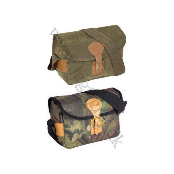 Taske med plads til 5 kasser patroner